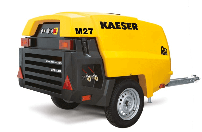 Kaeser M27 Skid Mobilair Compressor Lano Equipment Inc