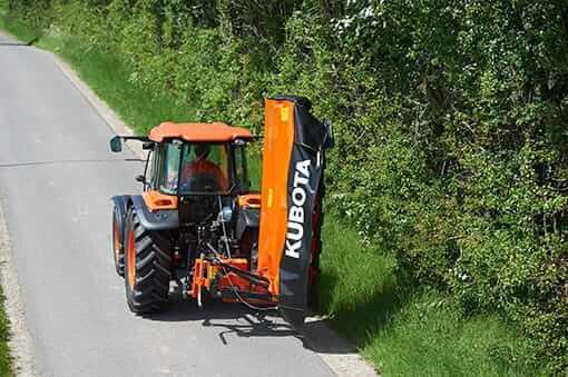 Kubota Dm1017 Side Mounted Disc Mower Lano Equipment Inc