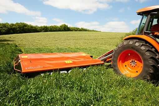 Kubota Dm2028 Compact Tractor Side Mounted Disc Mower