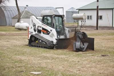 Bobcat Skid Steer Stump Grinder Attachment Lano Equipment Inc