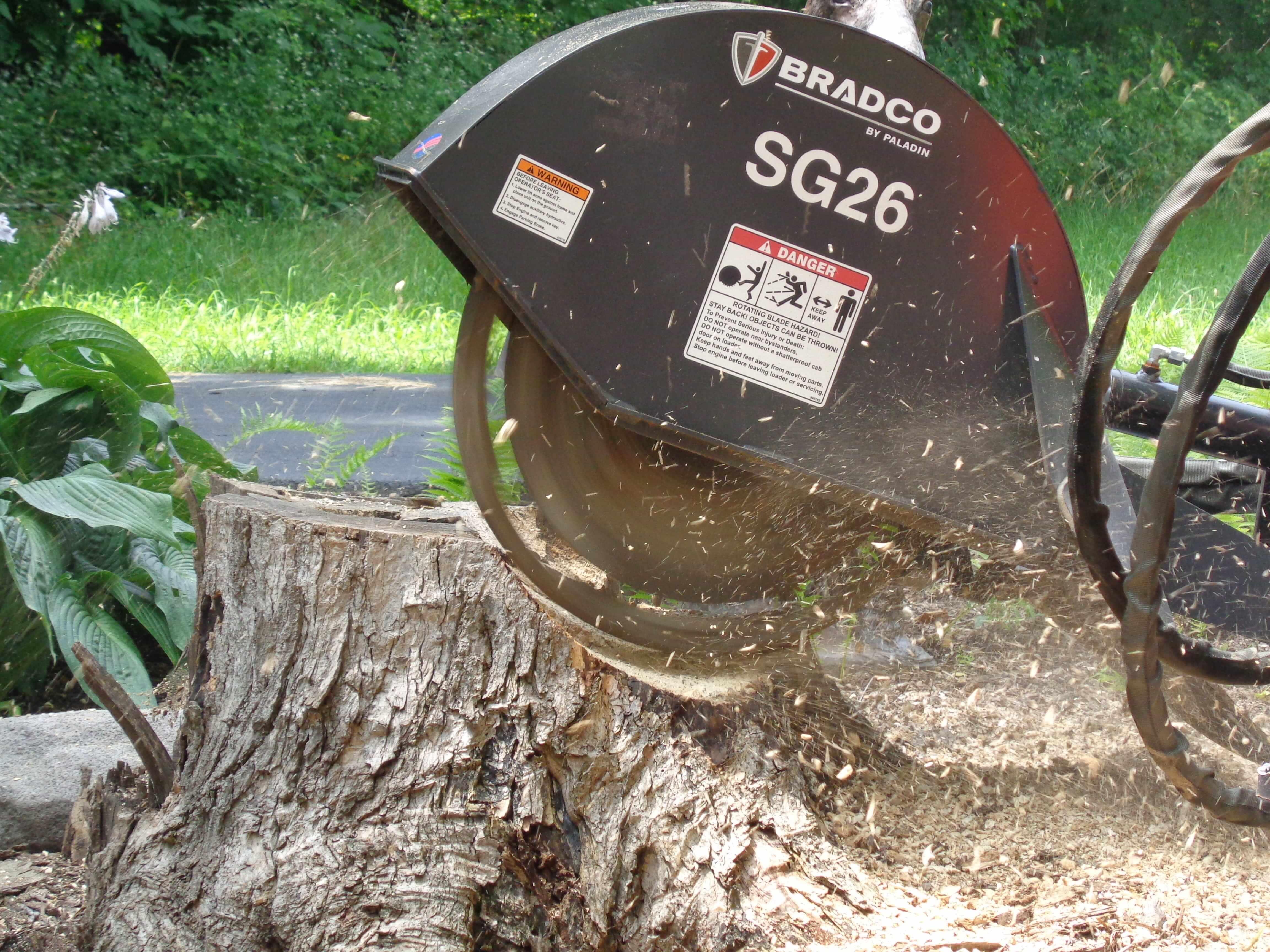 Bradco 26 Sg26 Skid Steer Stump Grinder Attachment Lano Equipment