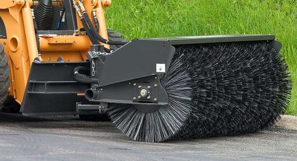 Sweepster 72 Quot Skid Steer Angle Broom Attachment Lano
