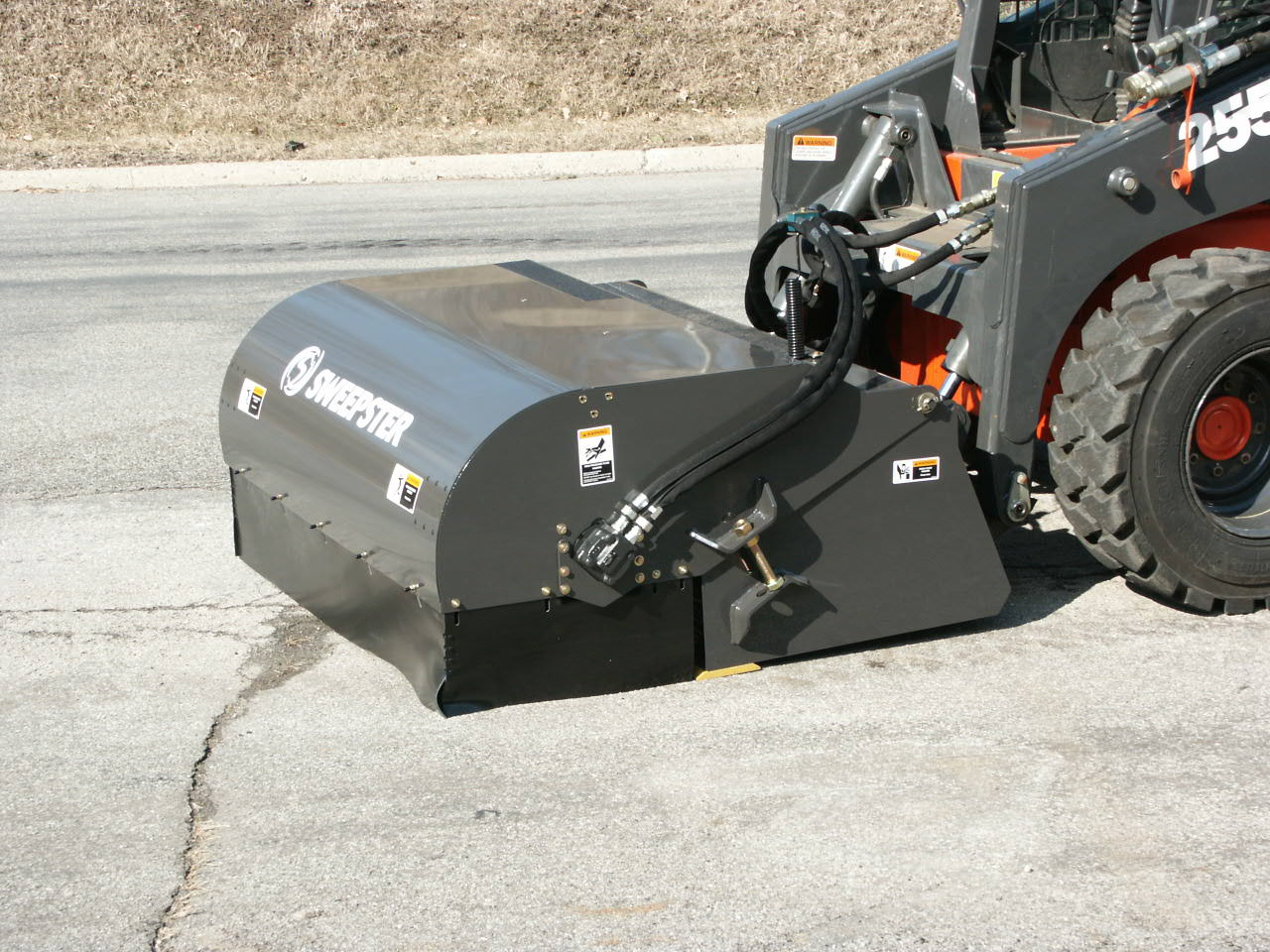 Sweepster 72 Quot Collector Sweeper Skid Steer Attachment