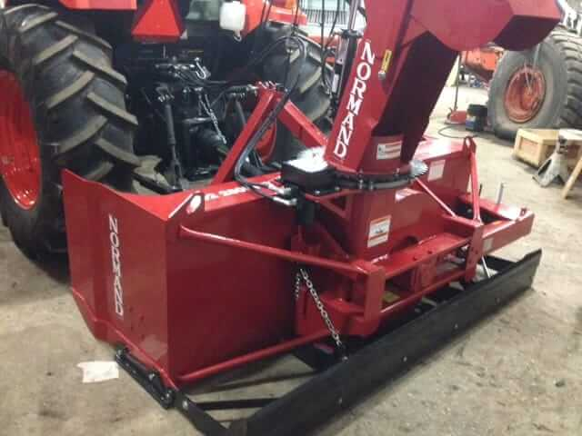 "Bobcat Parts Online >> Normand 74"" Inverted Snow Blower - Lano Equipment, Inc."