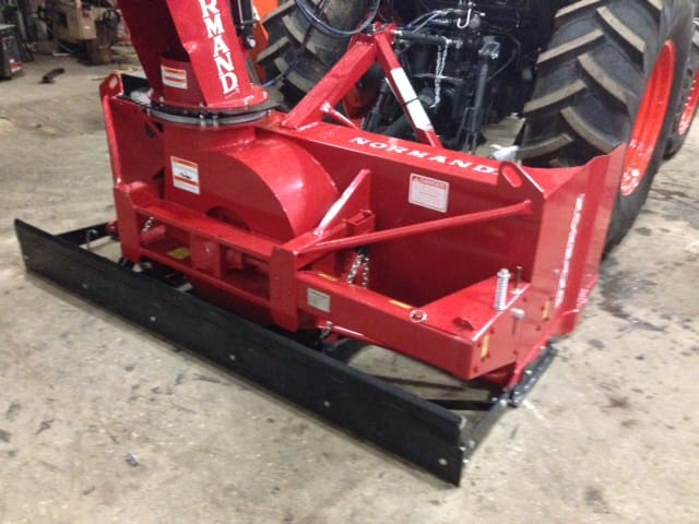 Normand 74 Quot Inverted Snow Blower Lano Equipment Inc