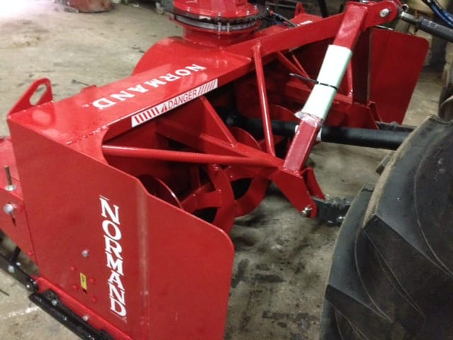 Normand 92 Quot Inverted Snow Blower Lano Equipment Inc