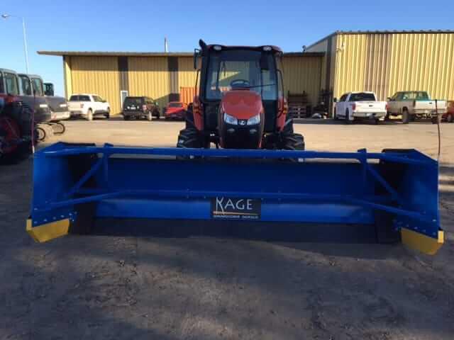 Kubota M5-111 Tractor w/ Kage SnowStorm Blade/Pusher - Lano
