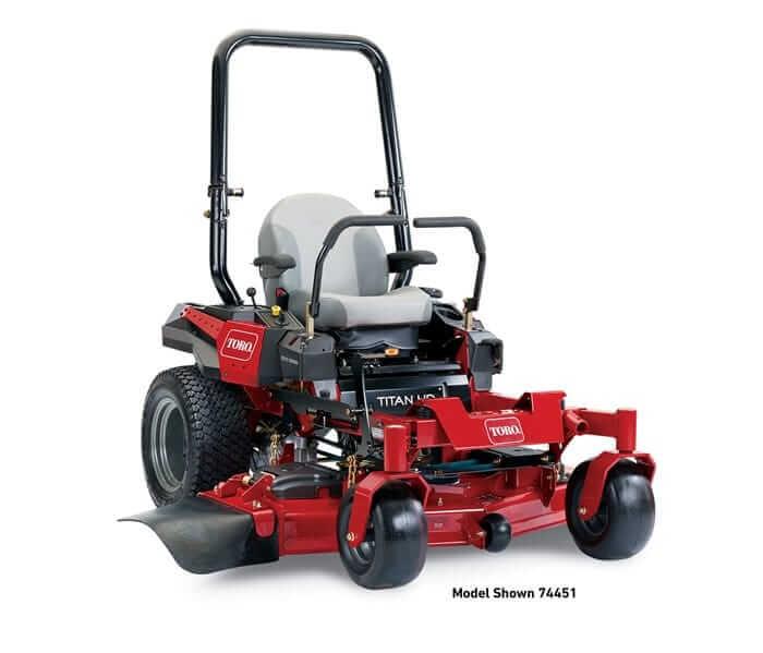 Toro 60 Quot Titan 174 Hd 1500 Series Zero Turn Mower 74452