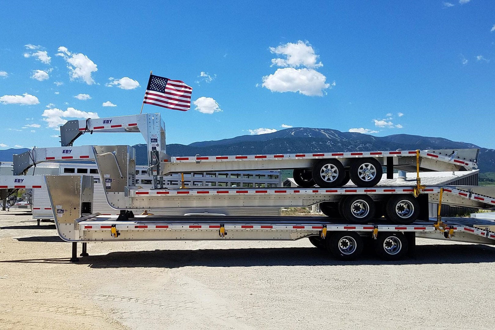 Eby Aluminum Trailers For Sale Mn Lano Equipment 736 307 2800