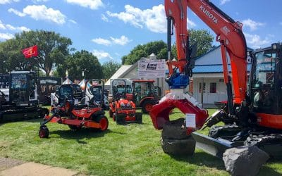 Lano Equipment back at the MN State Fair again, celebrating 75th Anniversary, where it all began